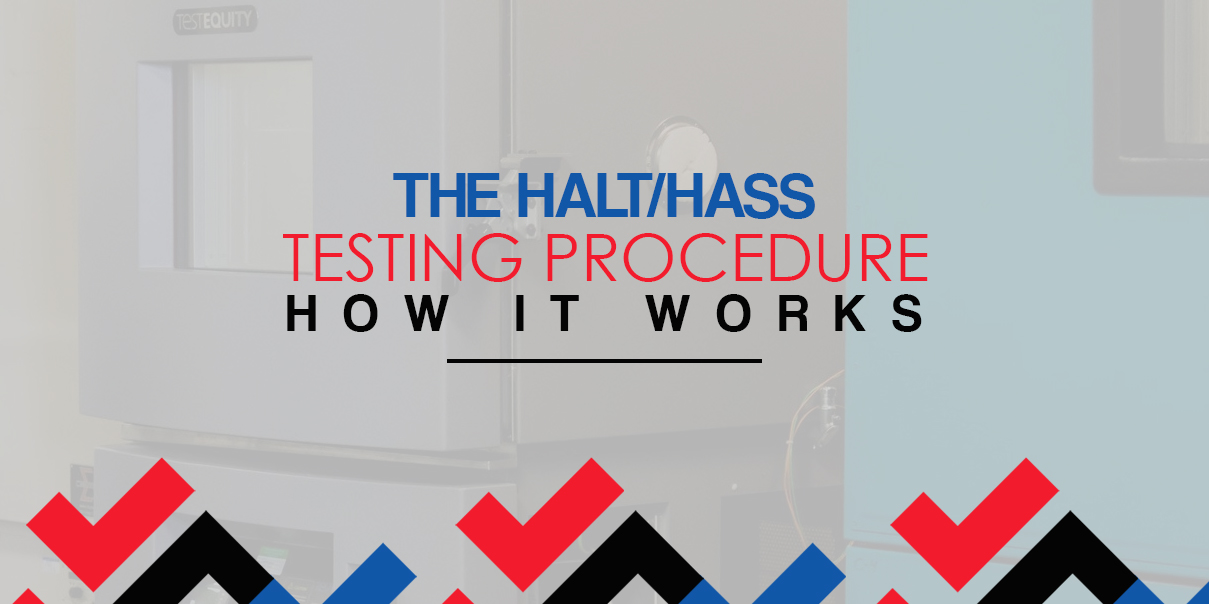 The halt/hass testing procedure: how it works