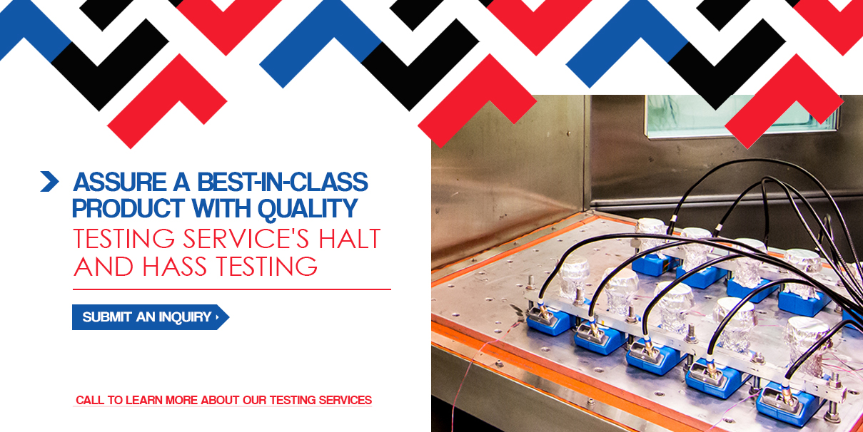 contact quality testing services for halt/hass testing