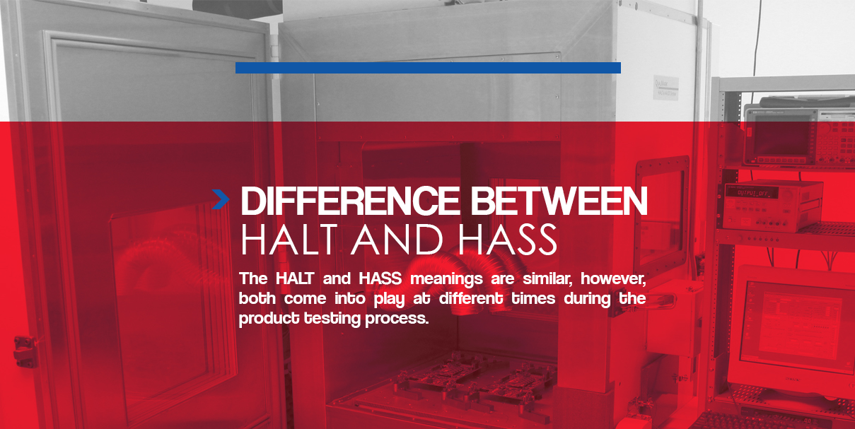 difference between halt and hass